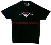 FENDER CUSTOM SHOP READY T SHIRT L BLACK - 9101002506