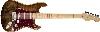 FENDER   Fender Custom Shop Spalted Maple Top Artisan Stratocaster®, Maple Fingerboard, Buckeye Finish 1510112151