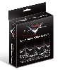 FENDER CUSTOM SHOP DELUXE CARE SYSTEM 4 PACK BLACK NERO BLK - 0990539000