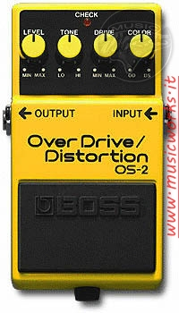 BOSS OS 2 OVERDRIVE DISTORTION
