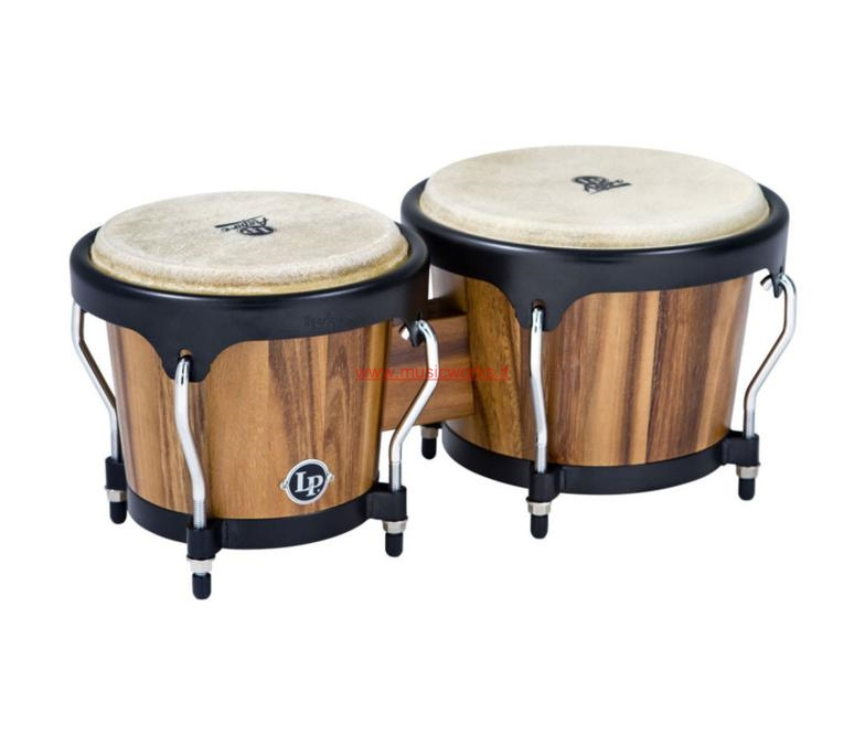 LATIN PERCUSSION LP Aspire Wood Bongos Walnut LPA 601 SW - 810500