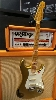 FENDER FENDER 57 STRATOCASTER CUSTOM SHOP RELIC NAMM 2015 LTD AZTEC GOLD OVER SUNBURST ..