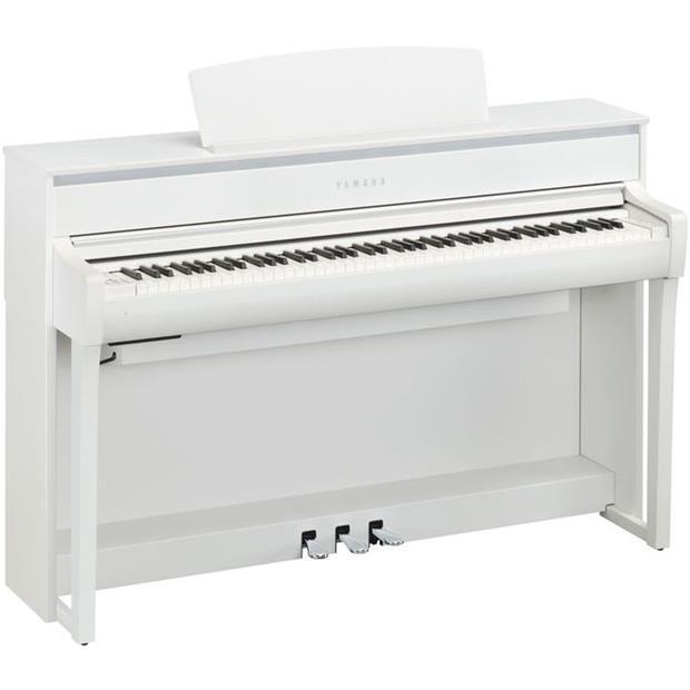 YAMAHA CLP 675 WH - CLAVINOVA - DIGITAL PIANO WHITE