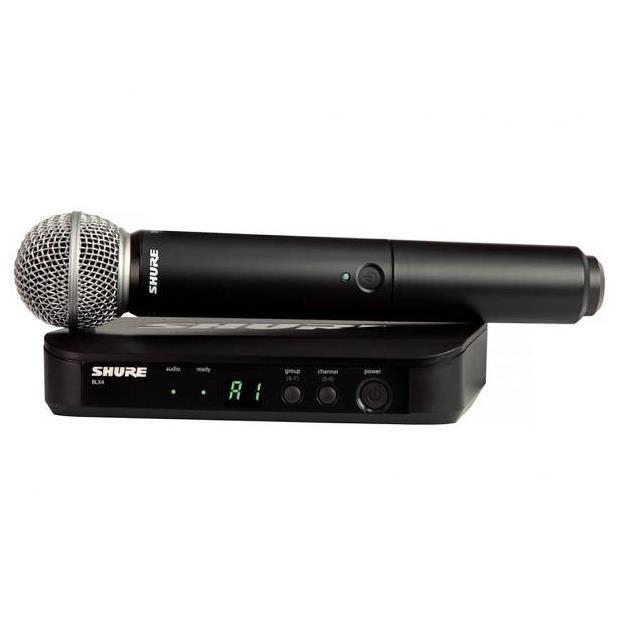 SHURE BLX24E SM58 RADIOMICROFONO VOCE MANO