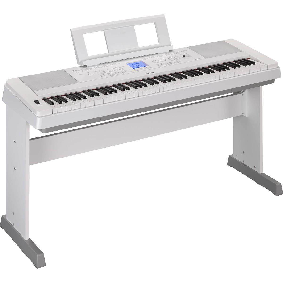 YAMAHA DGX 660 WH - DIGITAL PIANO WHITE