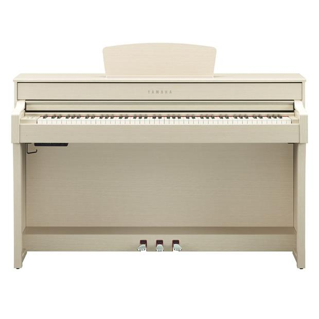 YAMAHA CLP 635 WA - CLAVINOVA - DIGITAL PIANO WHITE ASH