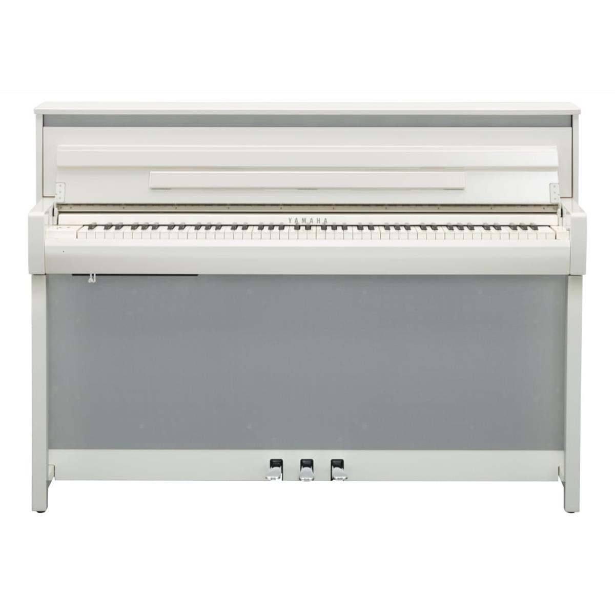 YAMAHA CLP685PWH - CLAVINOVA - DIGITAL PIANO POLISHED WHITE