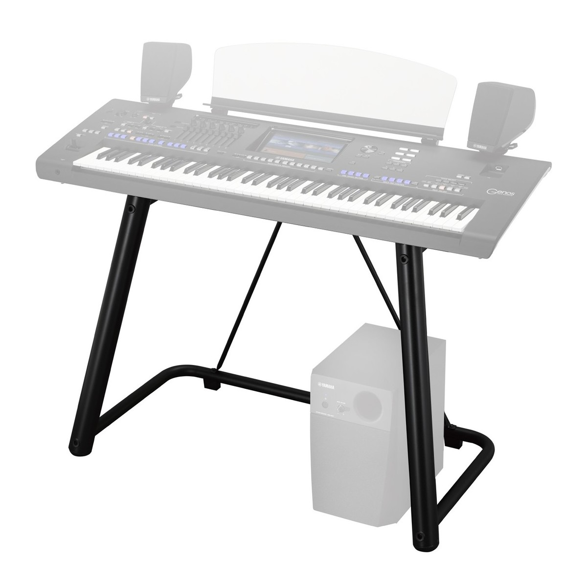 YAMAHA L7B - KEYBOARD STAND BLACK FOR GENOS