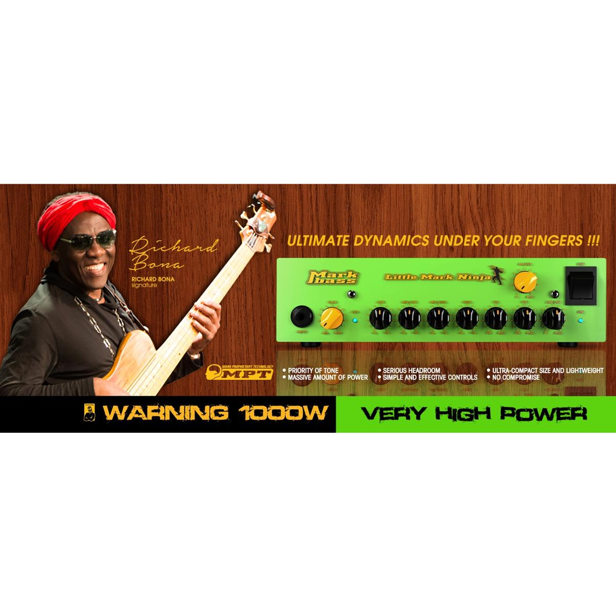 MARKBASS LITTLE MARK NINJA 1000 WATT