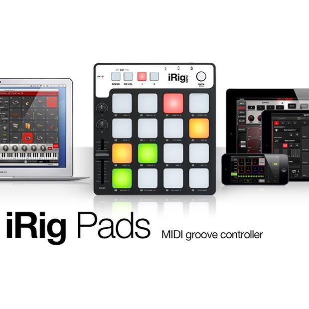 IK MULTIMEDIA iRIG PADS - CONTROLLER MIDI/USB per sistemi iOS, PC e MAC