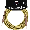 FENDER CUSTOM SHOP 25 INSTRUMENT CABLE TWEED CAVO STRUMENTO - 0990820032