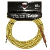 FENDER CUSTOM SHOP CABLE CAVO 15FT 4.5 METRI TWEED - 0990820049