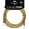 FENDER CUSTOM SHOP CABLE CAVO 20FT 6 METRI TWEED - 0990820050