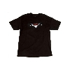 FENDER CUSTOM SHOP ORIGINAL LOGO T-Shirt Blk XL - 9101359606