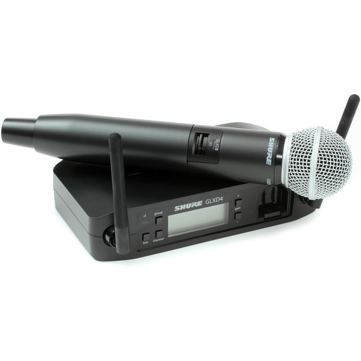 SHURE GLXD24/BETA 58 RADIO MANO GELATO DIGITALE