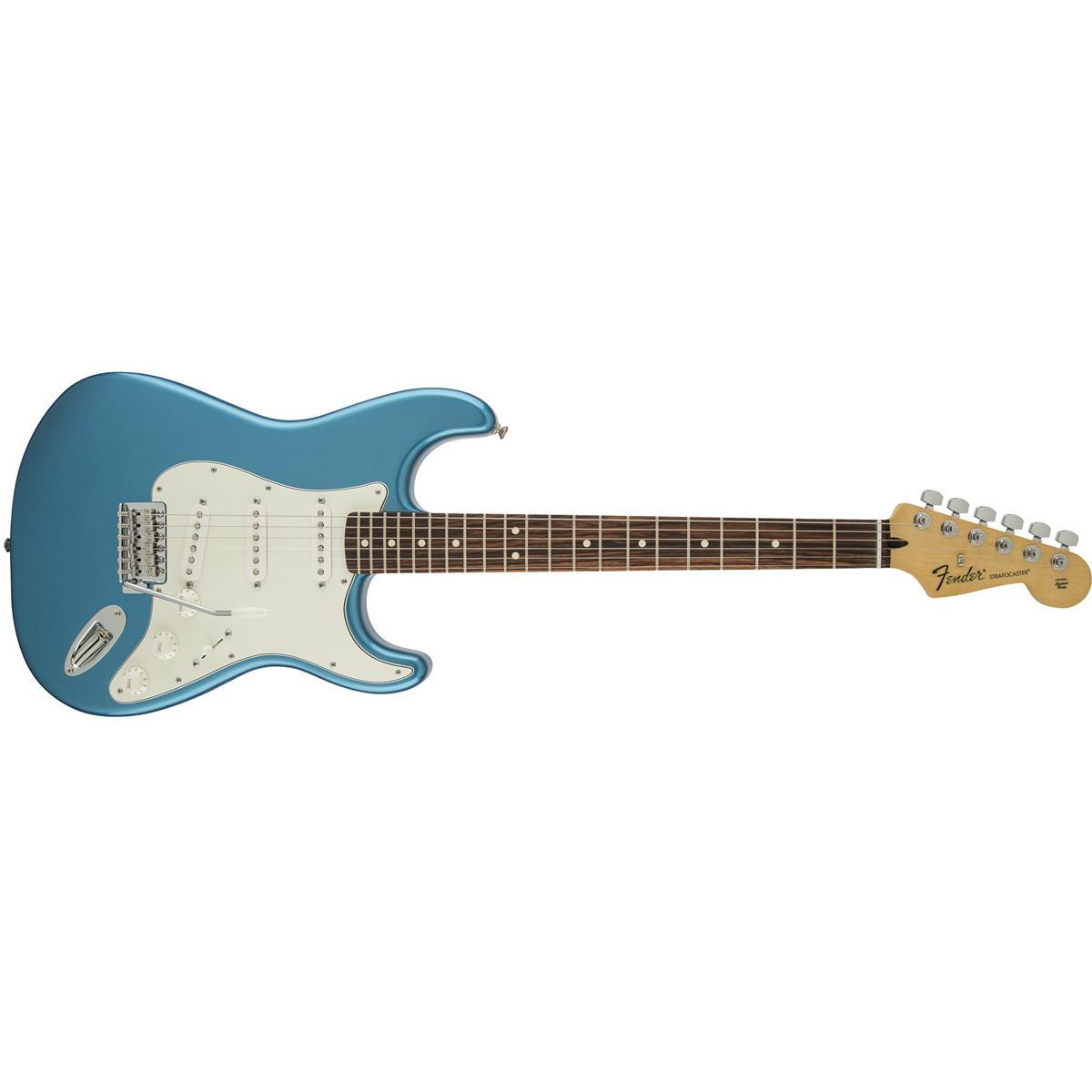 FENDER STRATOCASTER STANDARD MEX LAKE PLACID BLUE RW - 0144600502