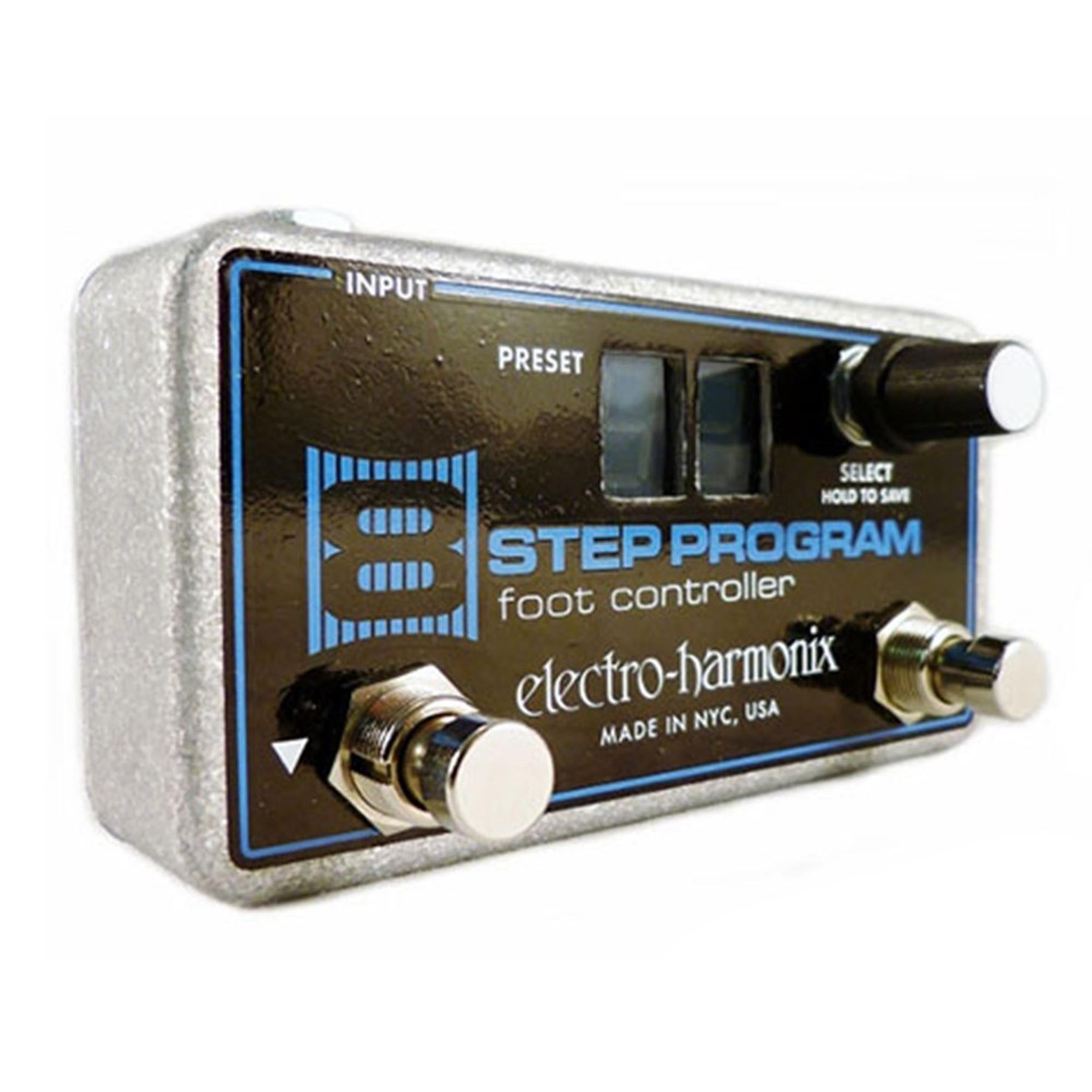 ELECTRO HARMONIX FC 8 STEP PROGRAM FOOT CONTROLLER