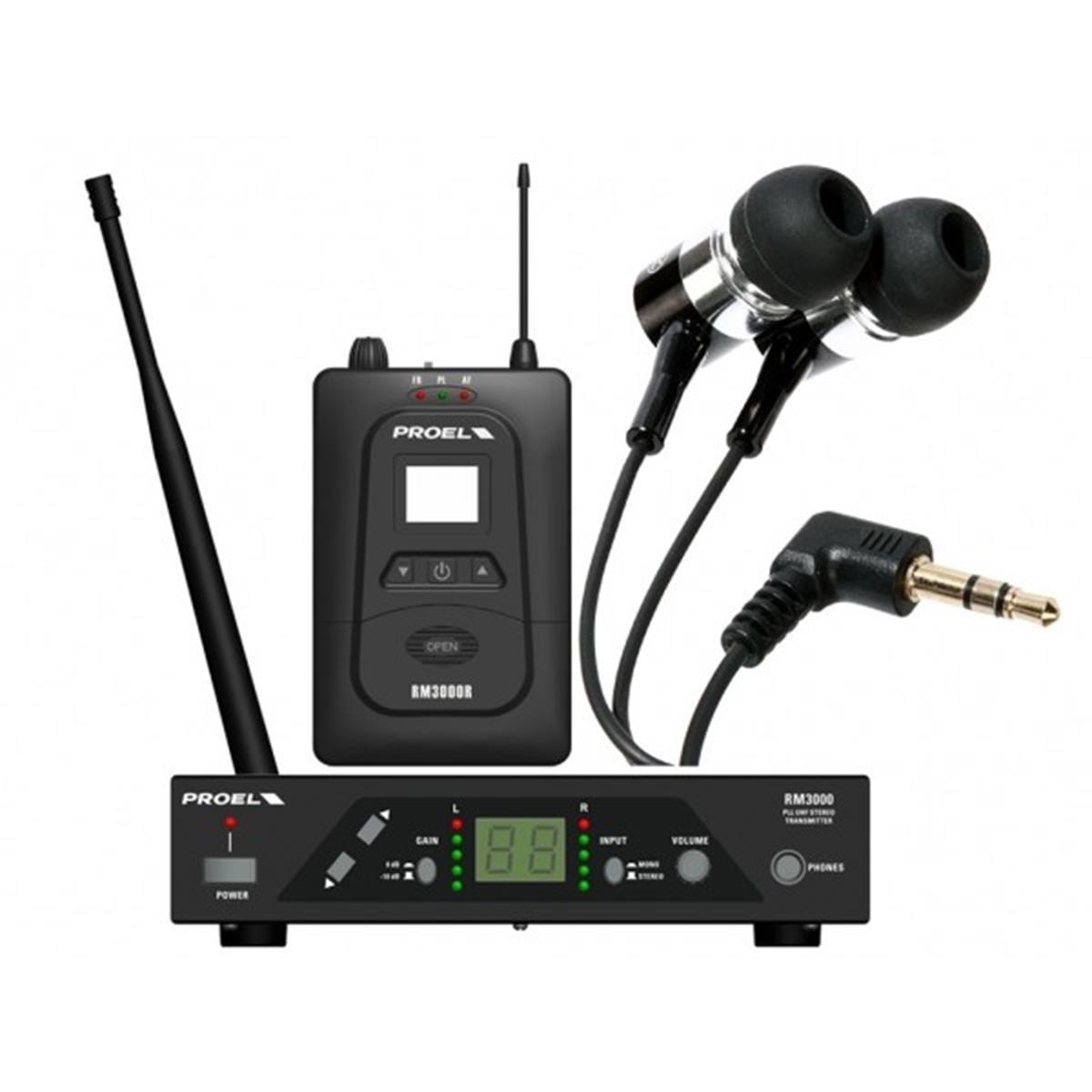 PROEL-EAR-MONITOR-RM3000TR-IN-EAR-sku-11643