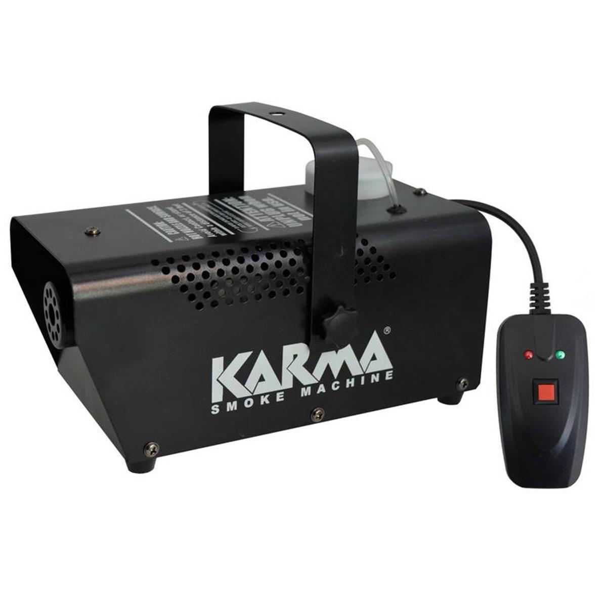 KARMA DJ 700 Mini smoke machine MACCHINA DEL FUMO