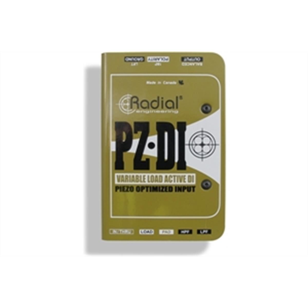 RADIAL PZ-DI DI BOX PER PICKUP PIEZO