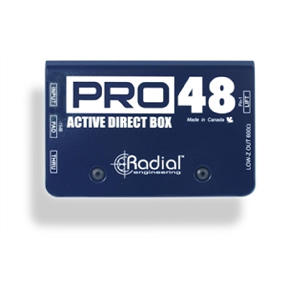 RADIAL PRO 48 DI BOX ATTIVA