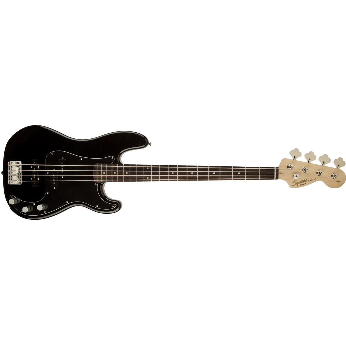 SQUIER Affinity Series Precision Jazz Bass PJ, Rosewood Fingerboard, black 0310500506