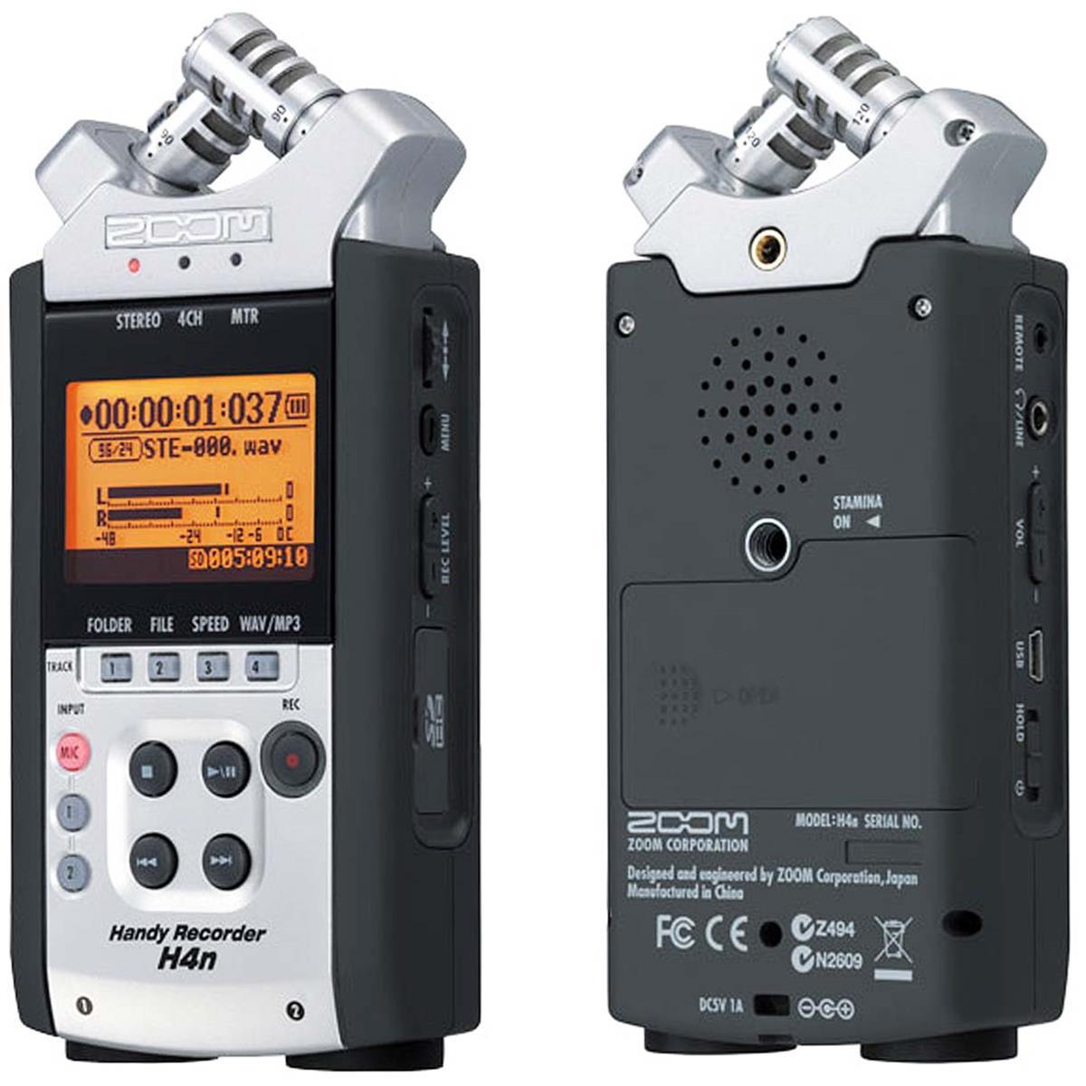 ZOOM H4nSP - registratore 4 tracce - interfaccia USB