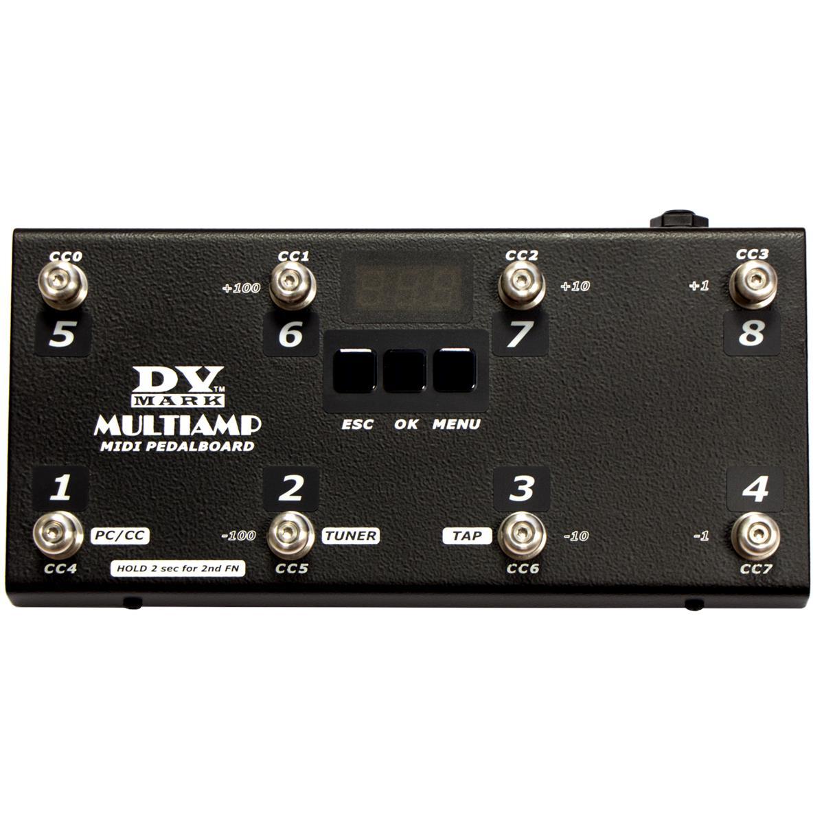 DV MARK MULTIAMP MIDI PEDALBOARD CONTROLLER REMOTE