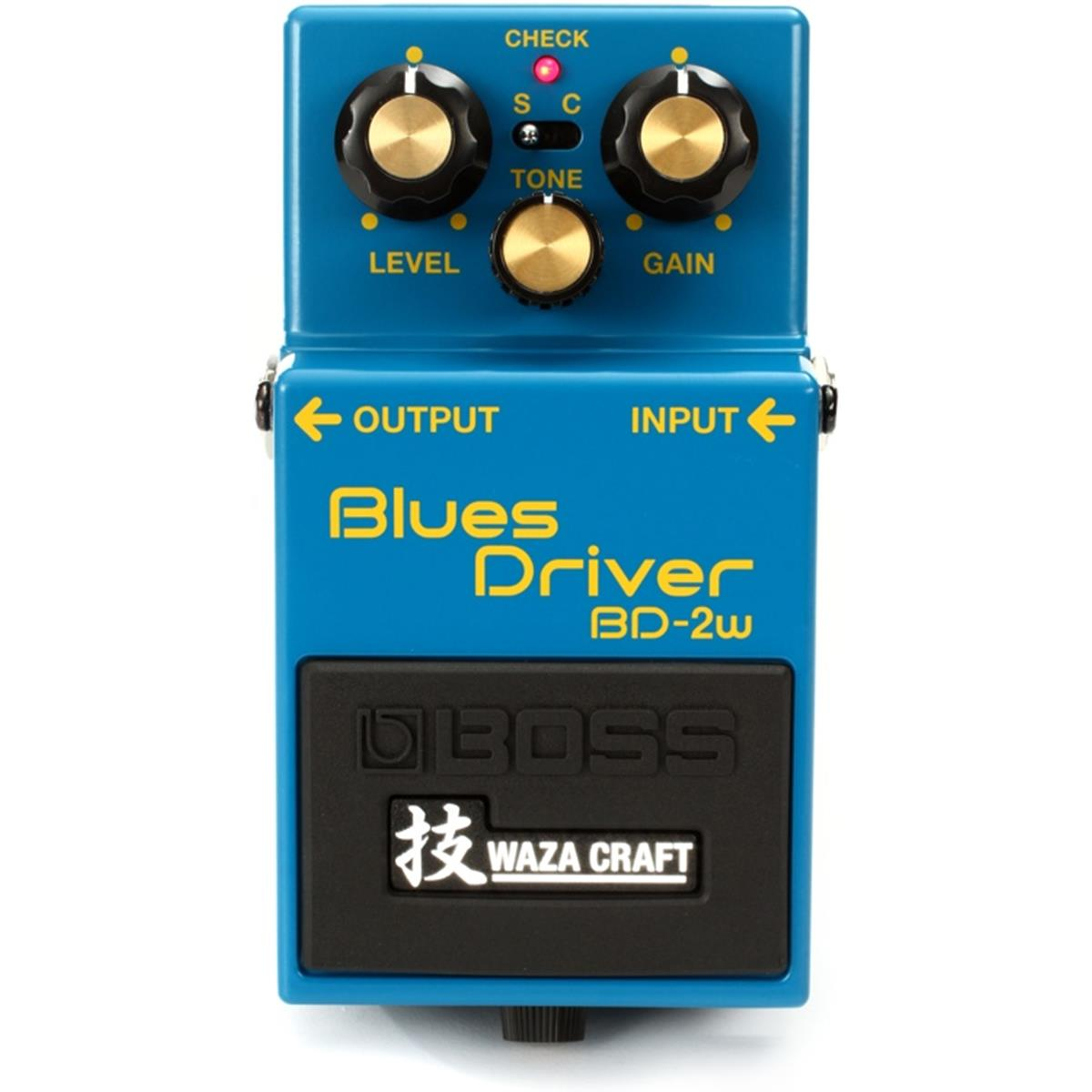 BOSS BD 2W BLUES DRIVER WAZA CRAFT