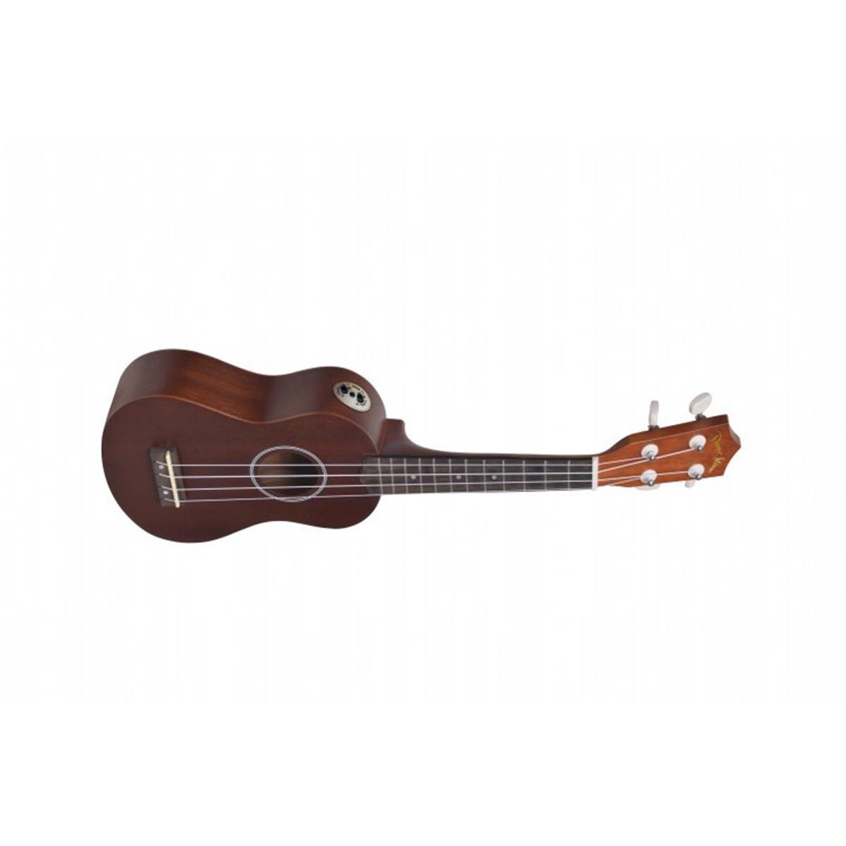 DARESTONE UKULELE SOPRANO AMPLIFICATO MOGANO - Strumenti A Corda Strumenti a Corda - Ukulele Banjo e Mandolini