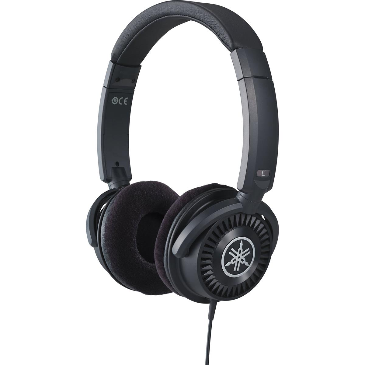 YAMAHA HPH150B - HEADPHONES BLACK