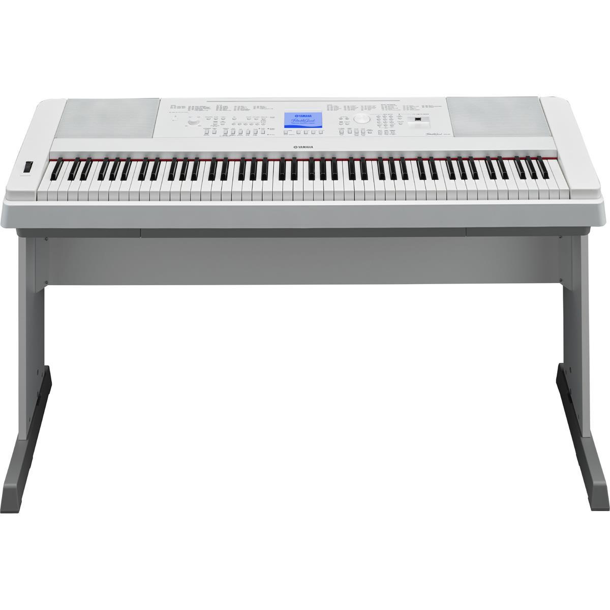 YAMAHA DGX 660 WH - DIGITAL PIANO WHITE - Tastiere Pianoforti Digitali