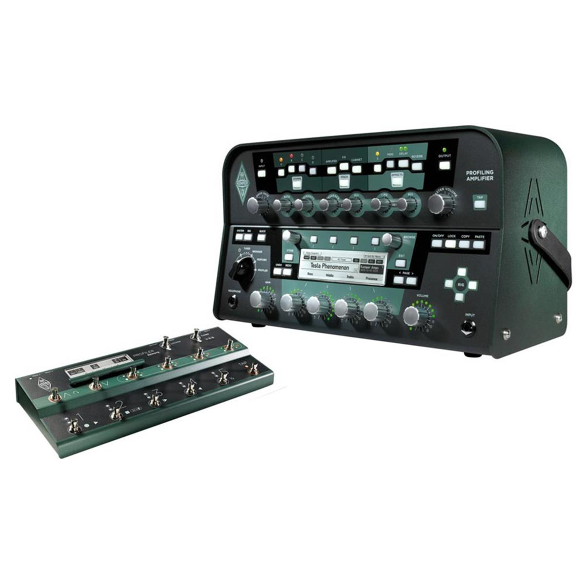 KEMPER-PROFILER-AMP-POWER-HEAD-SET-BUNDLE-REMOTE-CONTROL-PEDALBOARD-sku-14694