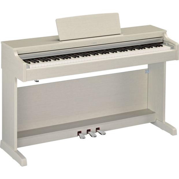 YAMAHA YDP 163 WA - ARIUS - DIGITAL PIANO WHITE ASH