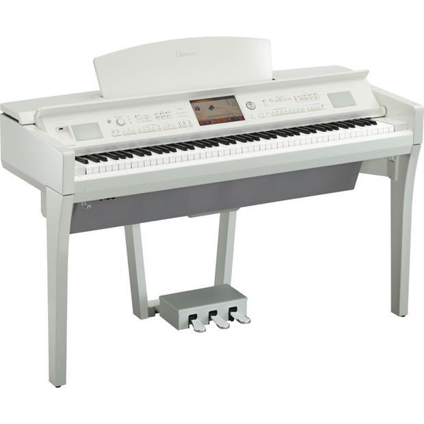 YAMAHA CVP 709 PWH - CLAVINOVA - DIGITAL PIANO WHITE POLISHED