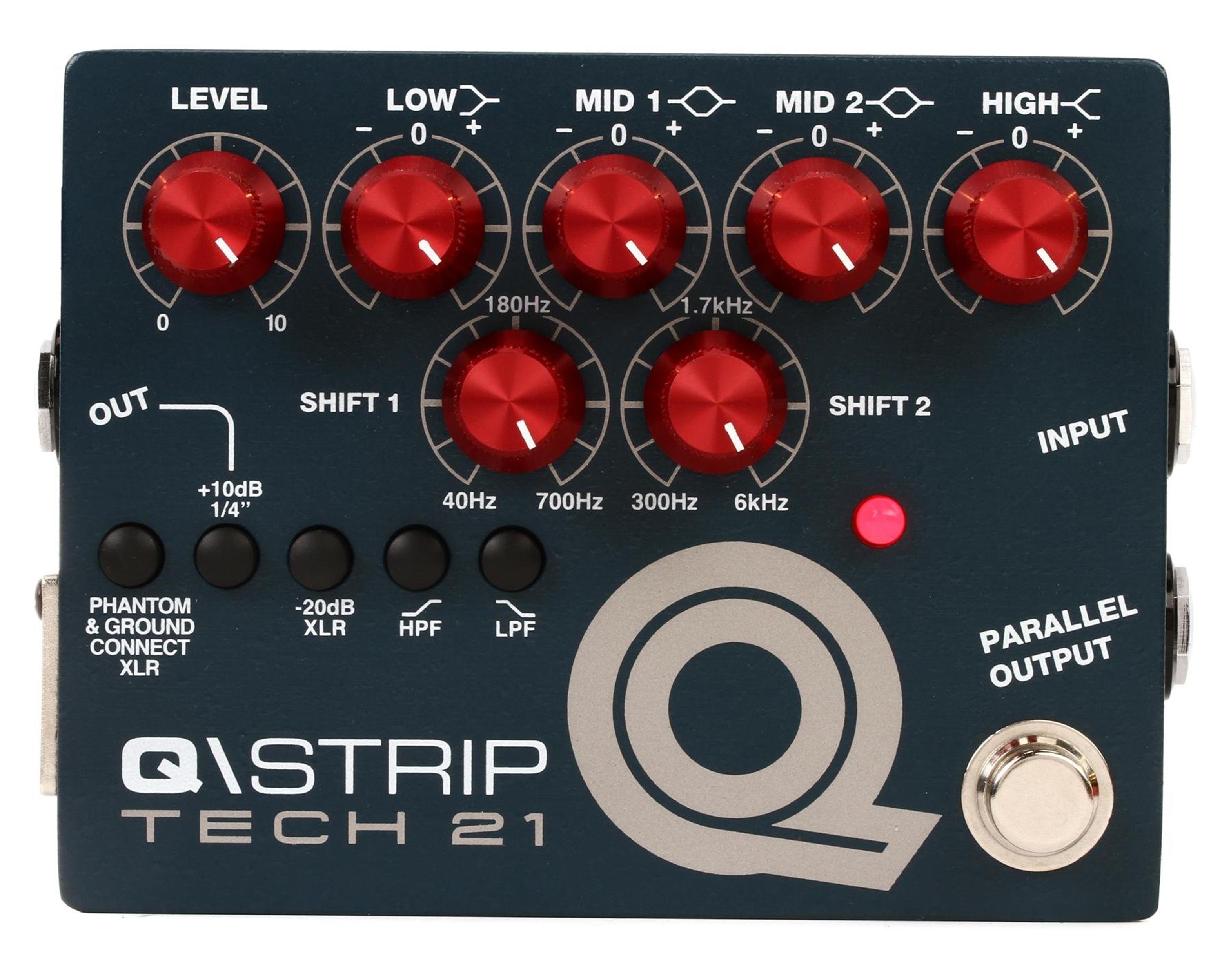 TECH-21 Q-STRIP DUAL PARAMETRIC EQ-DI