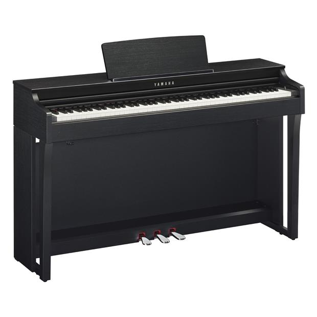 YAMAHA CLP 625 B - CLAVINOVA - DIGITAL PIANO BLACK
