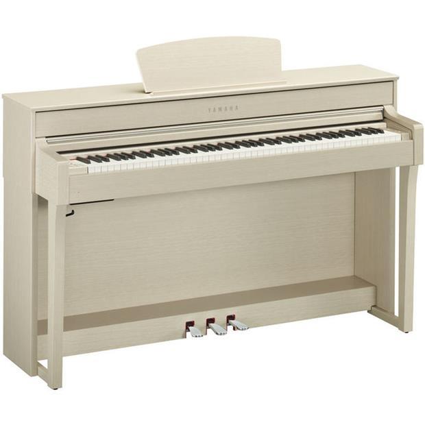 YAMAHA CLP 635 WA - CLAVINOVA - DIGITAL PIANO WHITE ASH - Tastiere Pianoforti Digitali