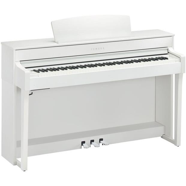 YAMAHA CLP 645 WH - CLAVINOVA - DIGITAL PIANO WHITE - Tastiere Pianoforti Digitali