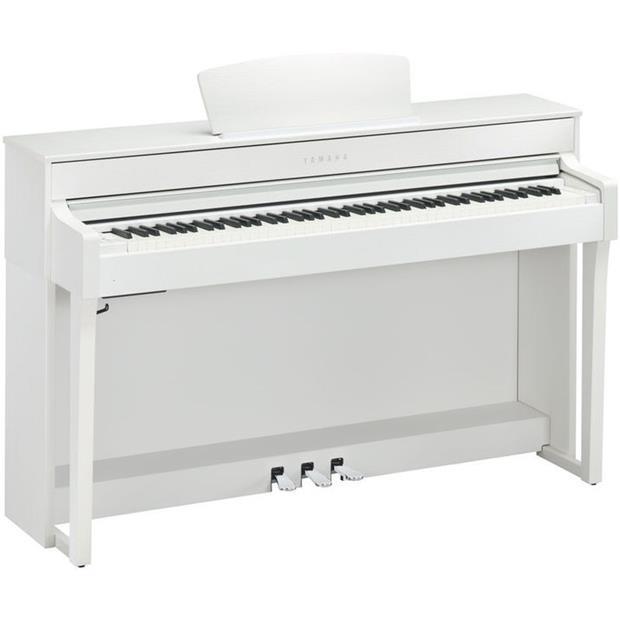 YAMAHA CLP 635 WH - CLAVINOVA - DIGITAL PIANO WHITE - Tastiere Pianoforti Digitali