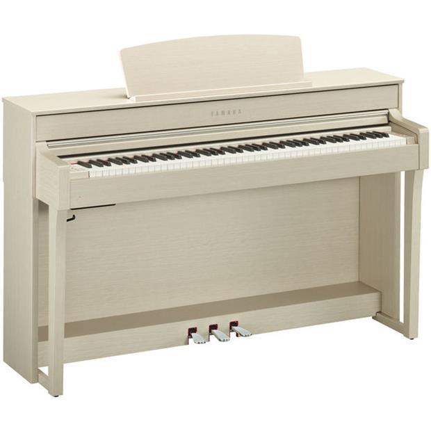YAMAHA CLP 645 WA - CLAVINOVA - DIGITAL PIANO WHITE ASH