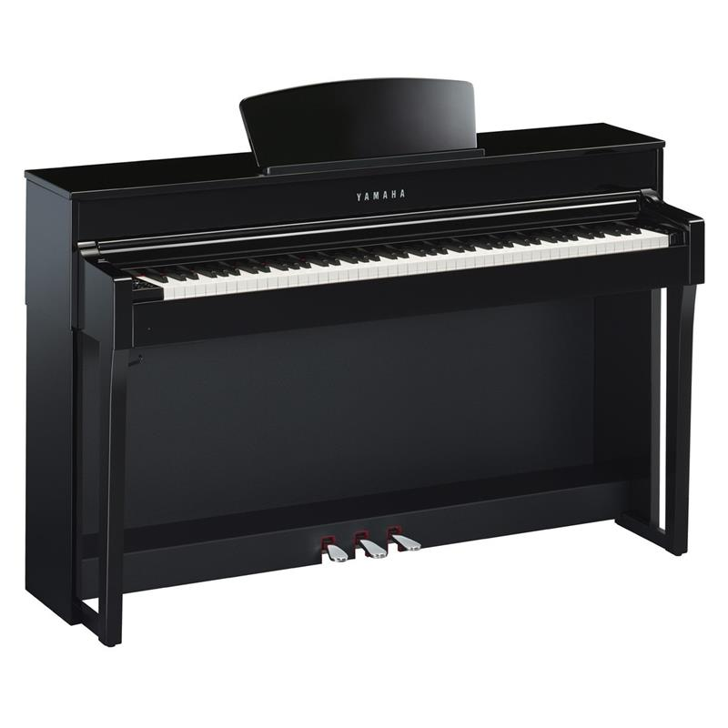 YAMAHA CLP635PE - CLAVINOVA - DIGITAL PIANO POLISHED BLACK