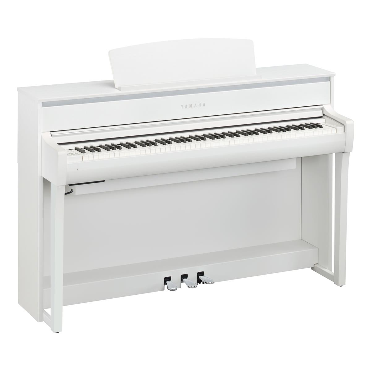 YAMAHA CLP675WHIT - CLAVINOVA - DIGITAL PIANO OM IT - Tastiere Pianoforti Digitali