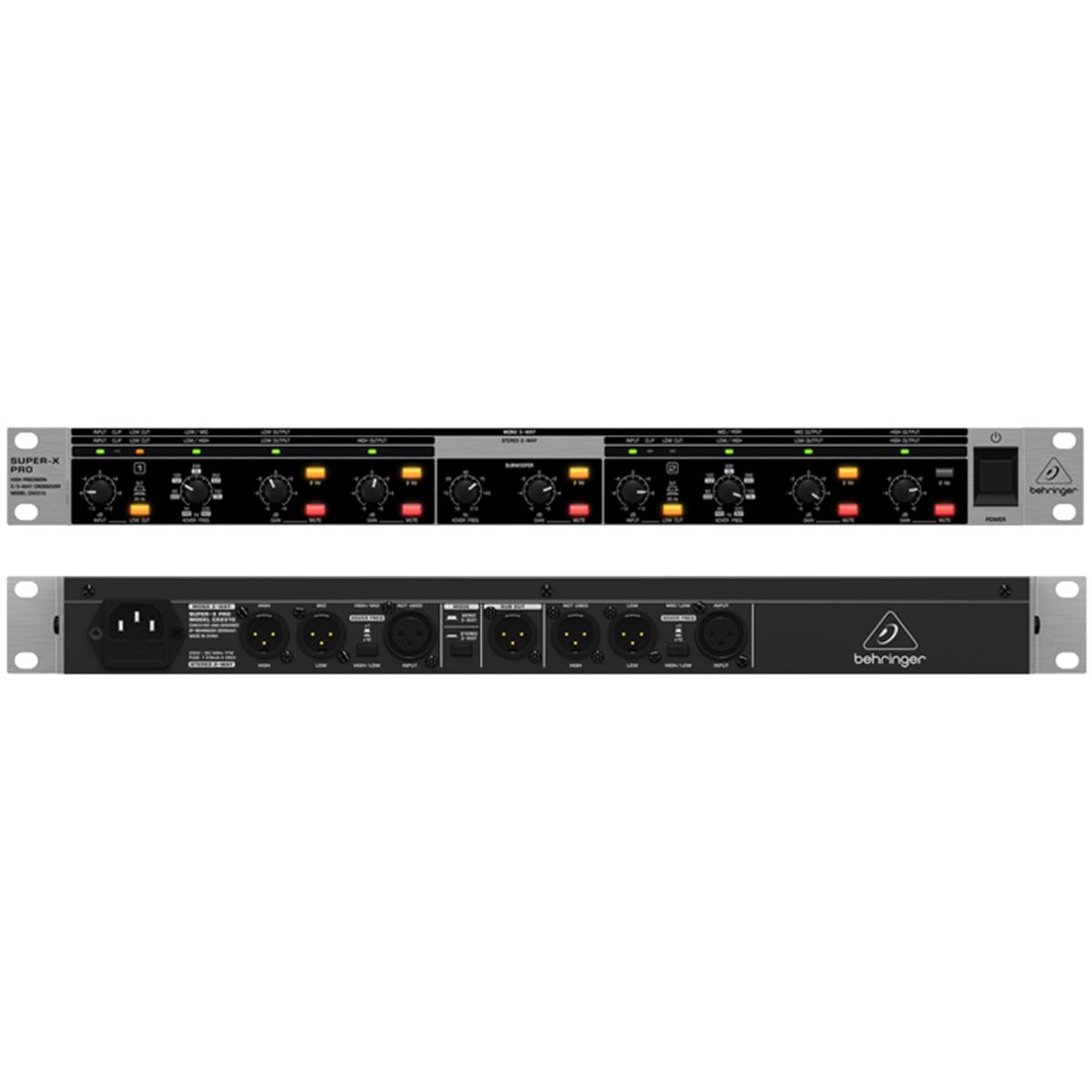 BEHRINGER CROSS SUPER-X PRO CX2310 CROSSOVER