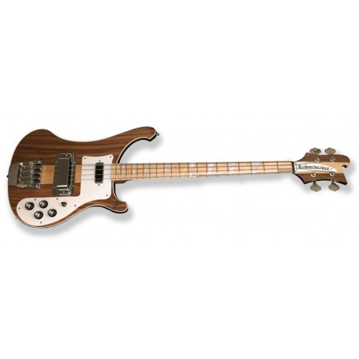 RICKENBACKER 4003 W BASS WALNUT FINISH ltd - Bassi Bassi - Elettrici 4 Corde