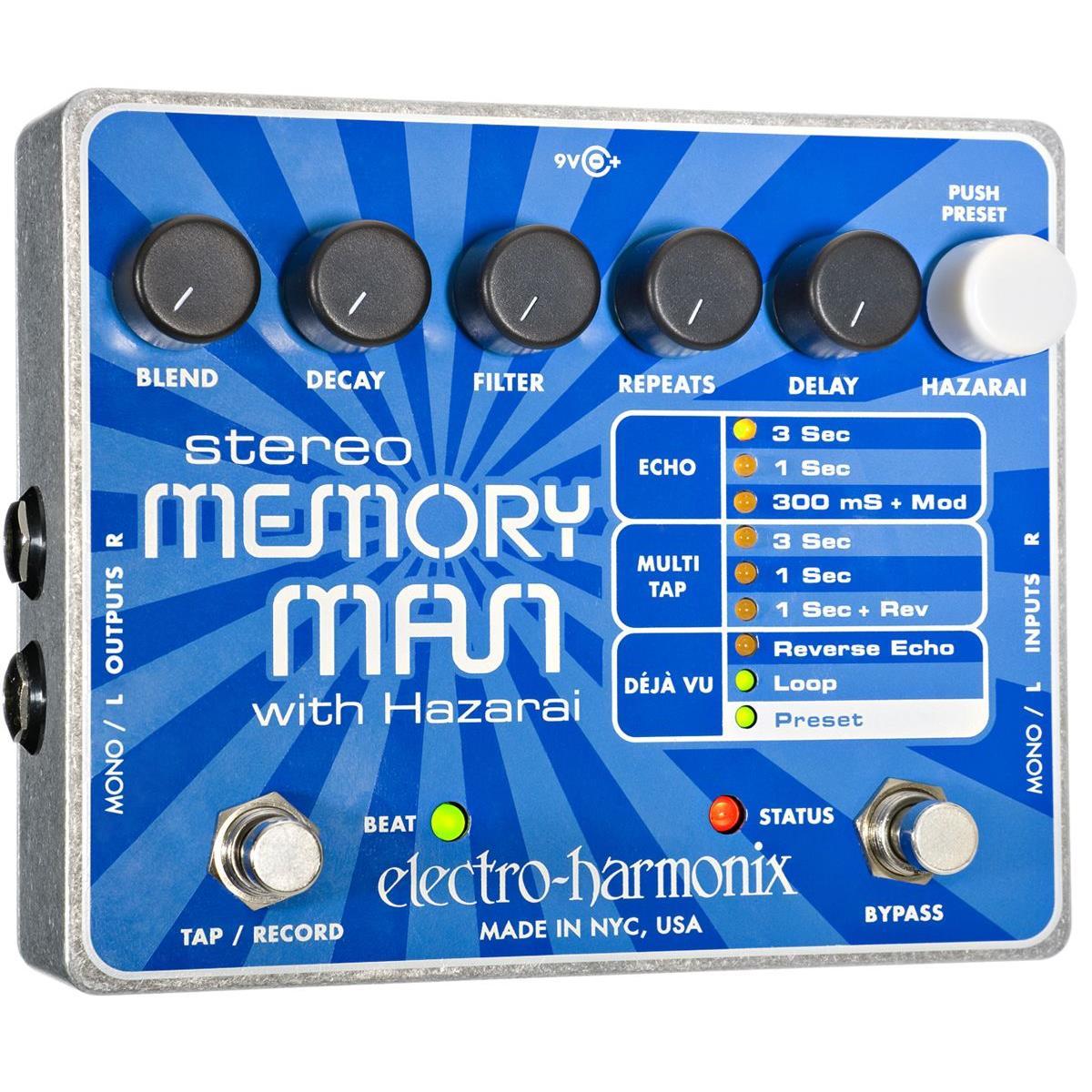 ELECTRO-HARMONIX-STEREO-MEMORY-MAN-WITH-HAZARAI-sku-1549