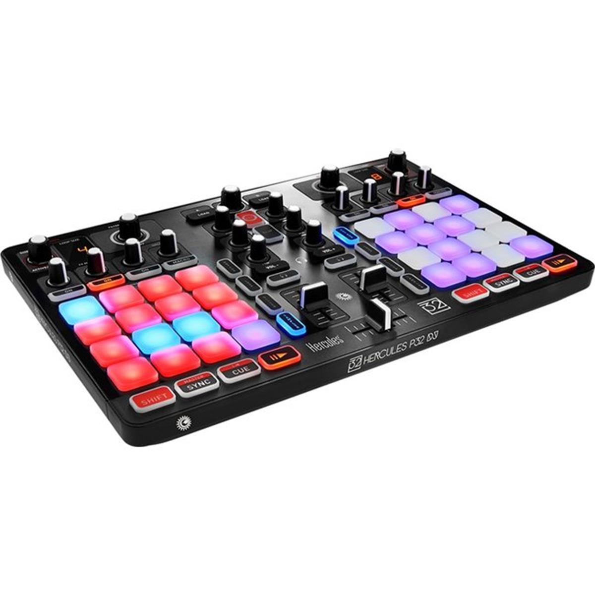 HERCULES P32 DJ CONTROLLER MIDI USB