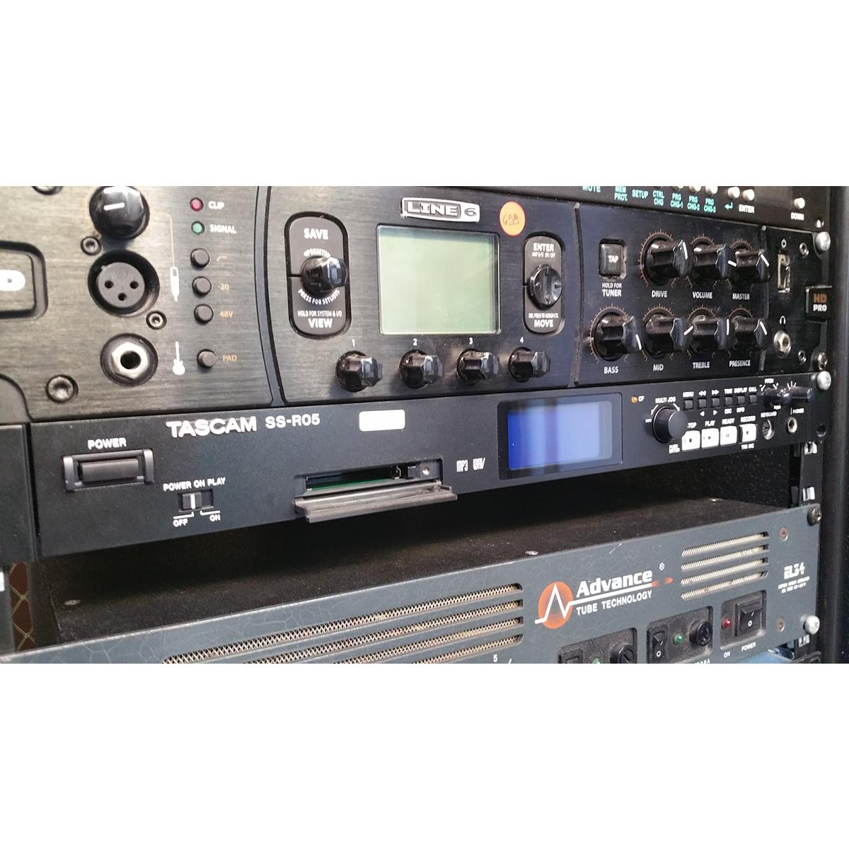 TASCAM TASCAM SS R 05 RECORDER . - Voce - Audio Registratori Multitraccia