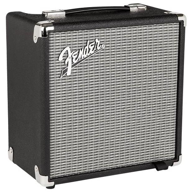 FENDER RUMBLE 15 COMBO BLACK SILVER - 2370106900