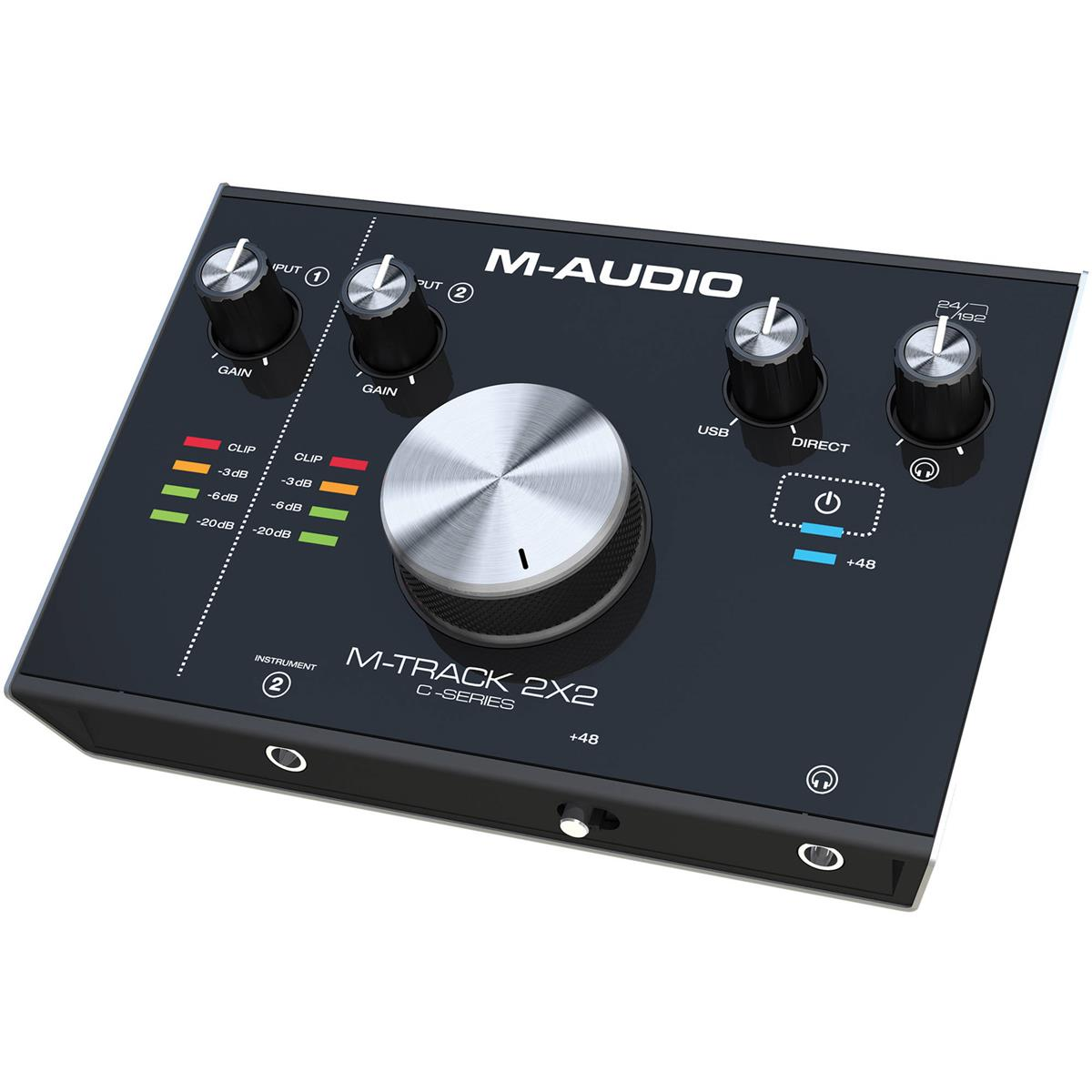 M-AUDIO M TRACK 2X2